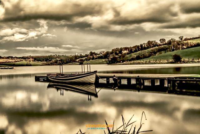 Gone fishing at Corbett lake near Banbridge !
