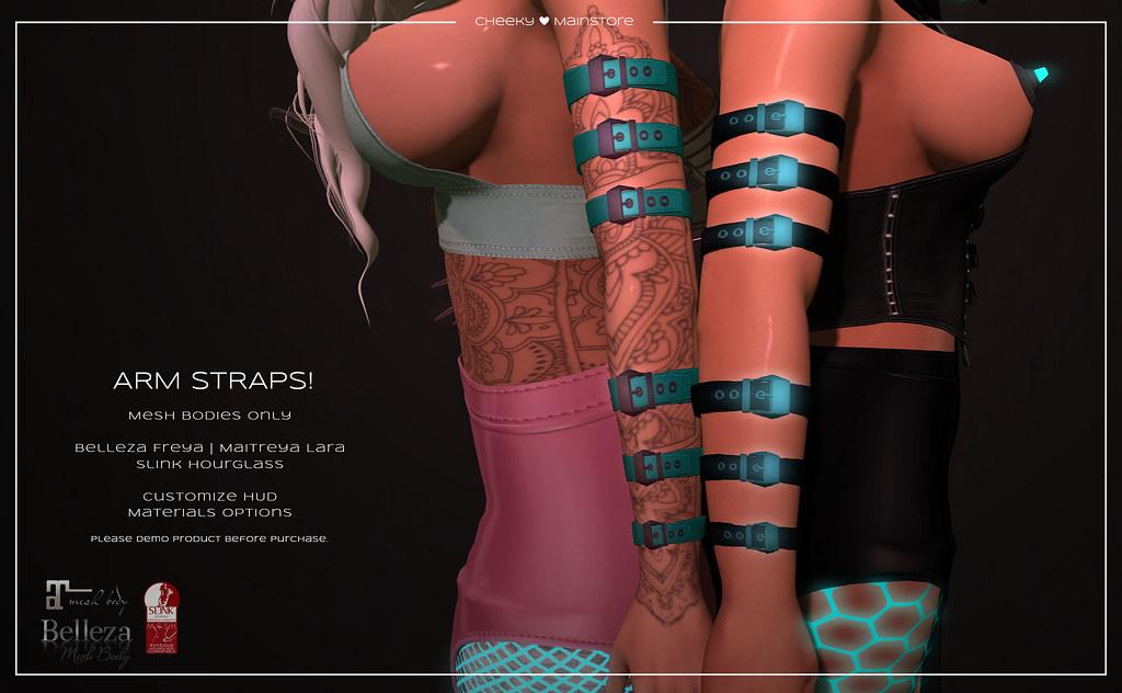 ? Arm Straps! ? - TeleportHub.com Live!