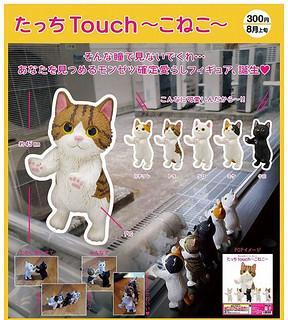《奇譚俱樂部》「探索小貓咪」新鮮登場 !たっち Touch ~こねこ~