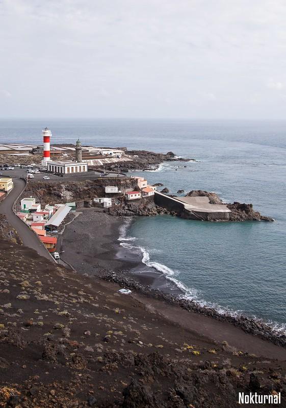 Fuencaliente Coast line