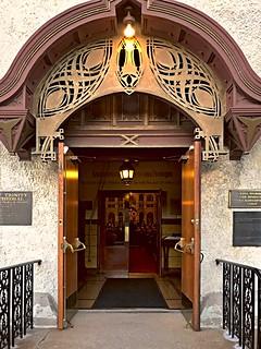 Louis Sullivan's Russian Orthodox Church in session last Saturday night in Chicago's Wicker Park neighborhood