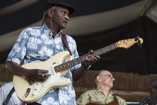 Lil Buck Sinegal at Jazz Fest day 7 on May 4, 2019. Photo by Ryan Hodgson-Rigsbee RHRphoto.com