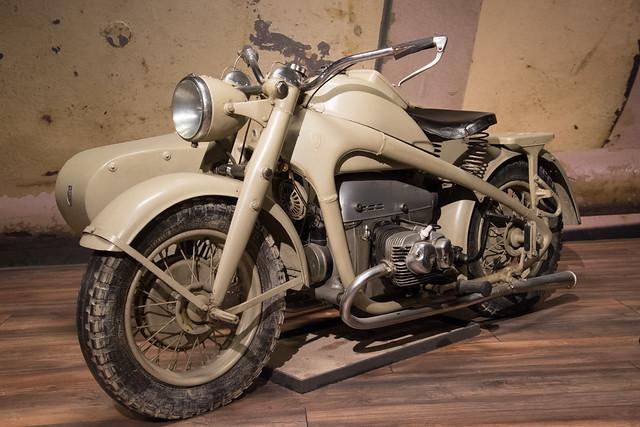 Zündapp KS 750, Wehrmachtsgespann | Louwman Museum