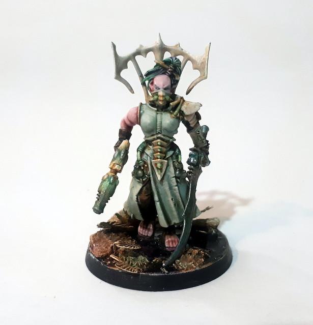Senua Xanthris, Bladewife of Bathor Arena
