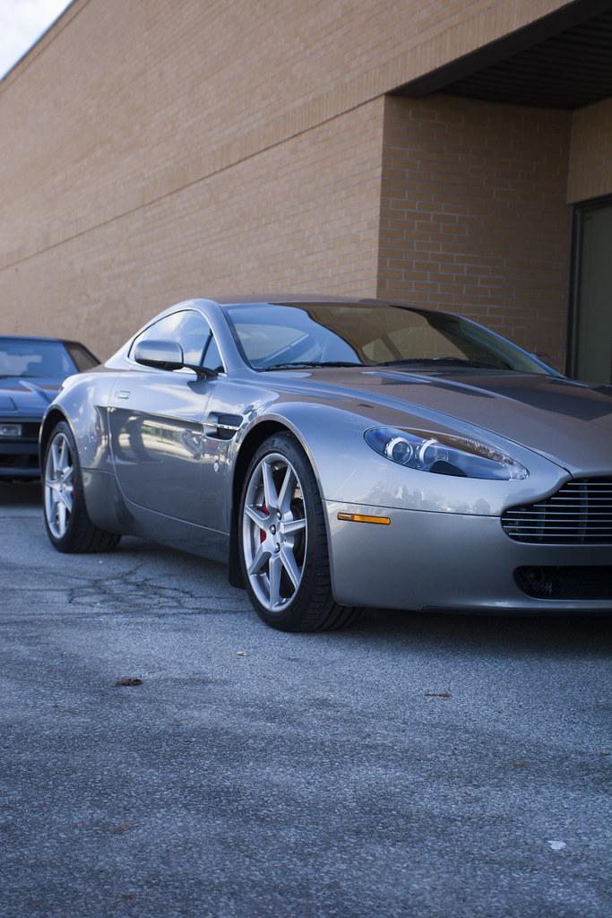 Aston Martin Vantage Anthony Flickr