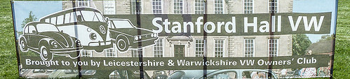 Stanford Hall VW banner