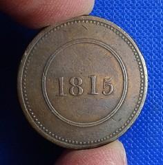 1815 token obverse