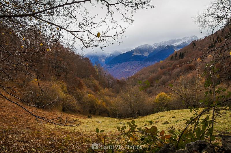 Valle de Toran desde el Bosc de Carlac