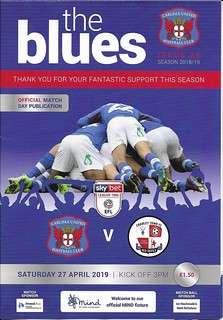 Carlisle United V Crawley Town 27-4-19   by cumbriangroundhopper