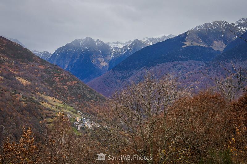 Canejan y el Valle de Toran desde el Bosque de Carlac