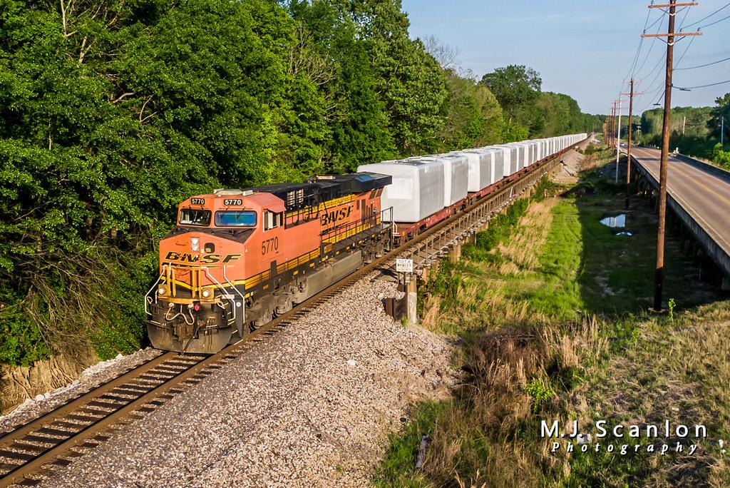 BNSF 5770 | GE ES44AC | BNSF Birmingham Subdivision | Flickr