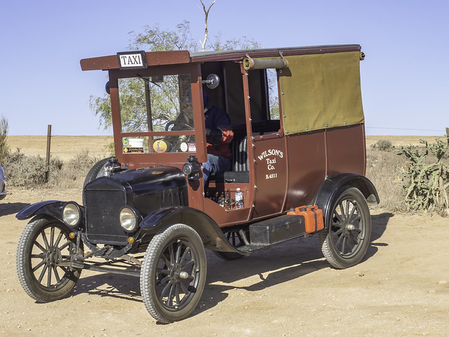 Vintage Ford Taxi