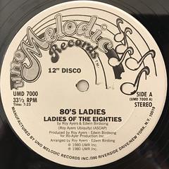 80'S LADIES:LADIES OF THE EIGHTIES(LABEL SIDE-A)