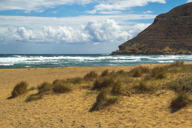 Spain - Almeria - Nijar - El Playazo de Rodalquilar beach