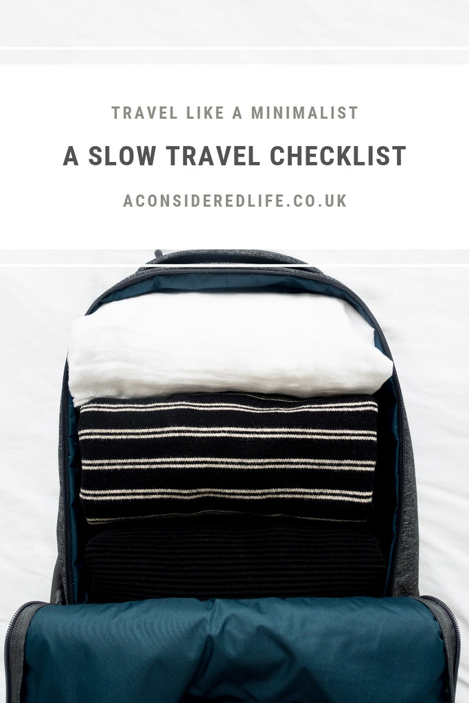 A Slow Travel Checklist