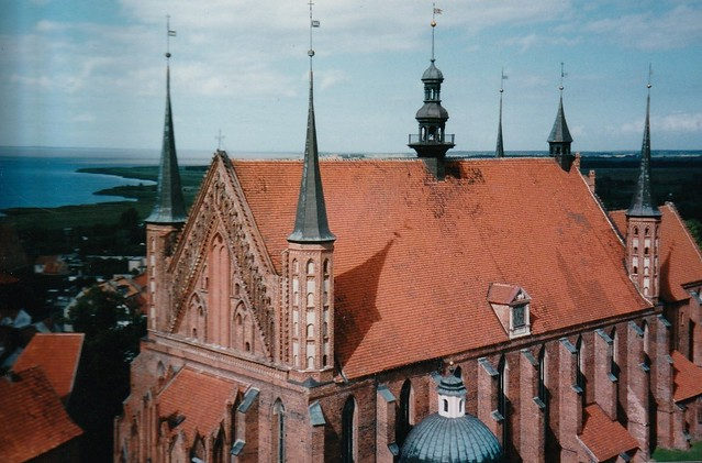 Cathédrale de l'Assomption et de Saint André (1329-1388), Frombork, powiat de Braniewo, voïvodie de Varmie-Mazurie, Pologne.