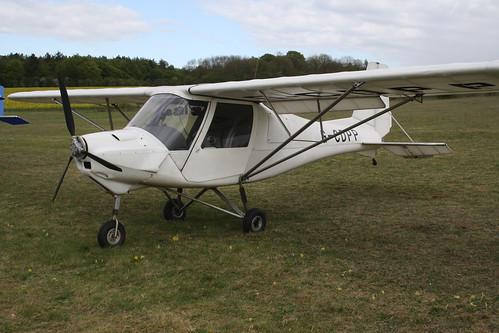 G-CDPP Ikarud Comco C-42 [PFA 322-14423] Popham 040519