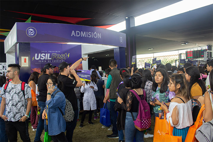 Feria de carreras USIL Fest acogió a miles de escolares