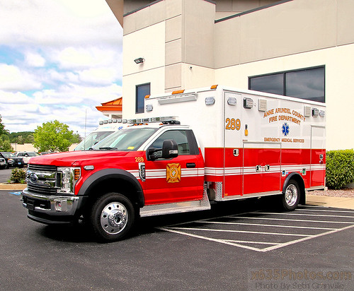 Anne Arundel County Fire Department Medic 289 Photo