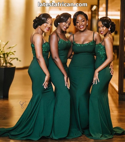 Latest African Long Gown Styles 2019