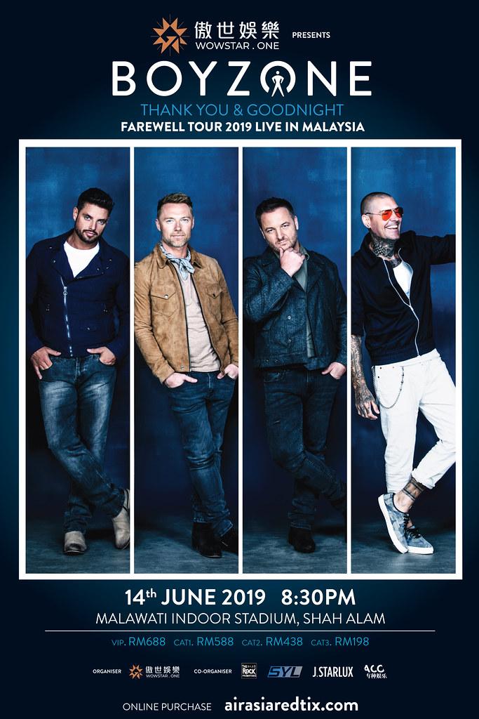 Konsert Boyzone Live In Malaysia