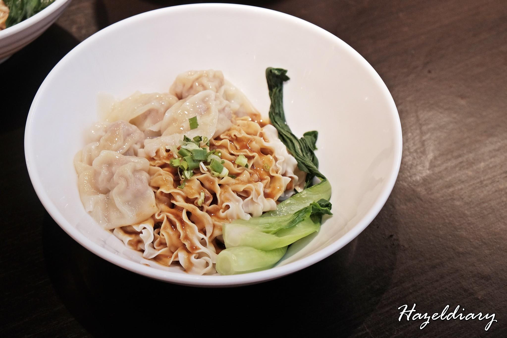 Ju Hao Taiwanese noodles Platform M-Sesame noodles