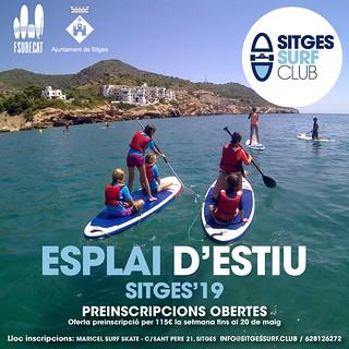 Esplai Sitges Surf Club Verano 2019