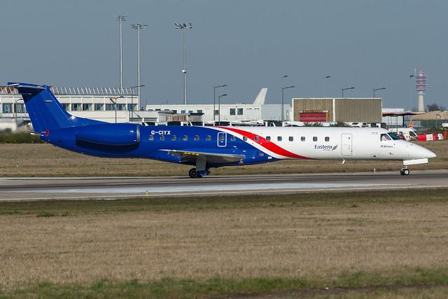 Eastern Airways / ERJ145 / G-CIYX / LFPO