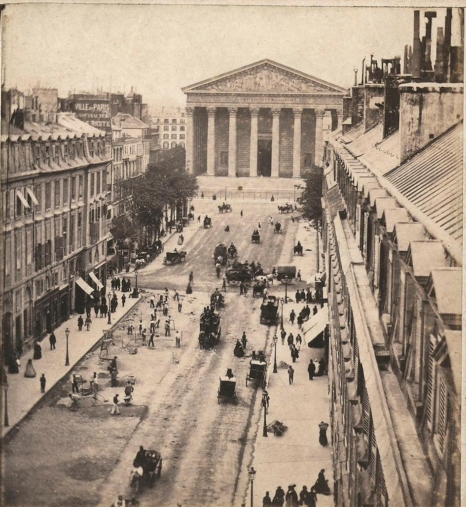 1870 Вид на улицу Руаяль