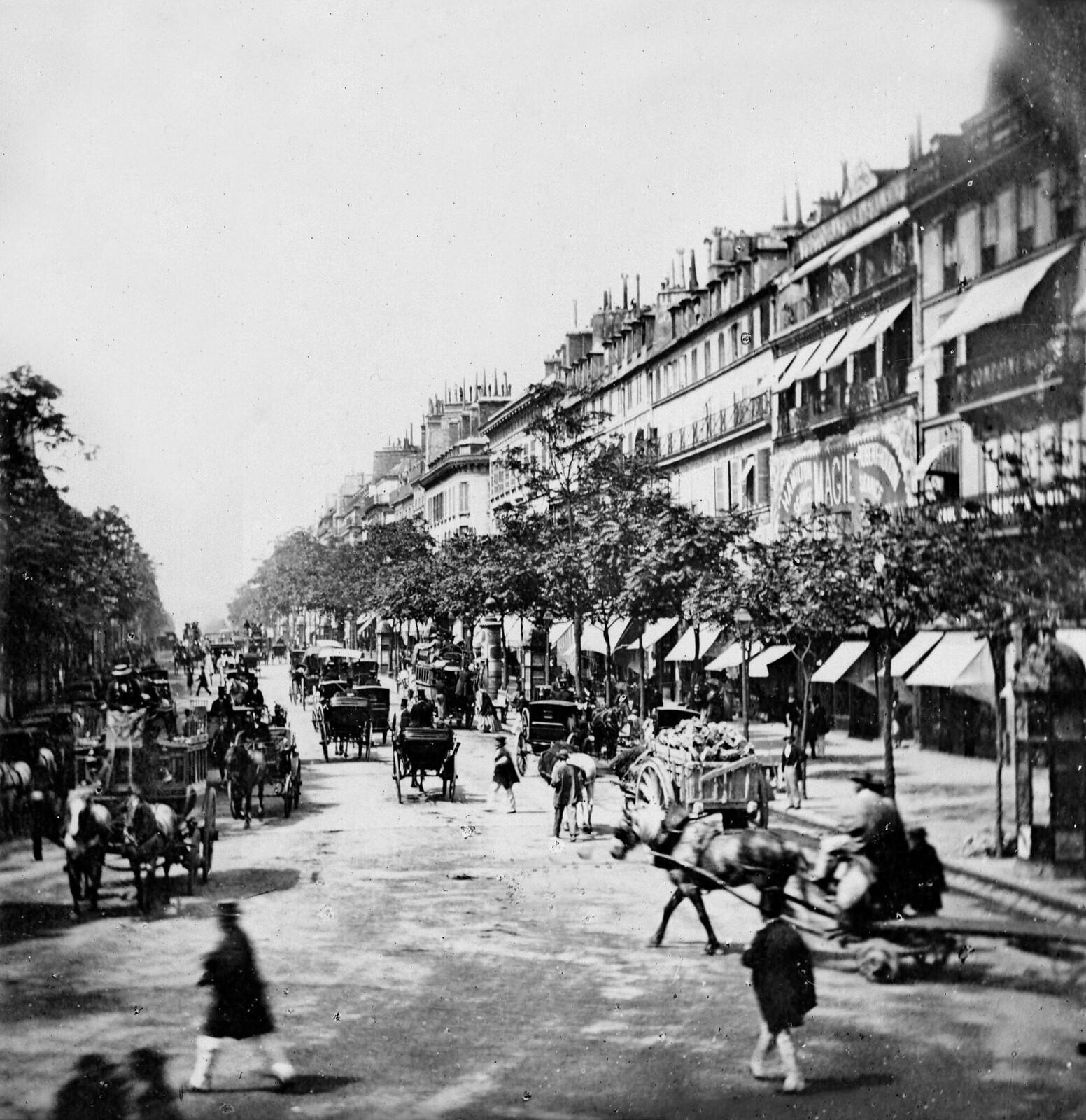 1865. Итальянский бульвар