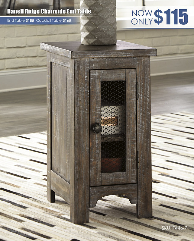 Danell Ridge Chairside End Table_T446-7