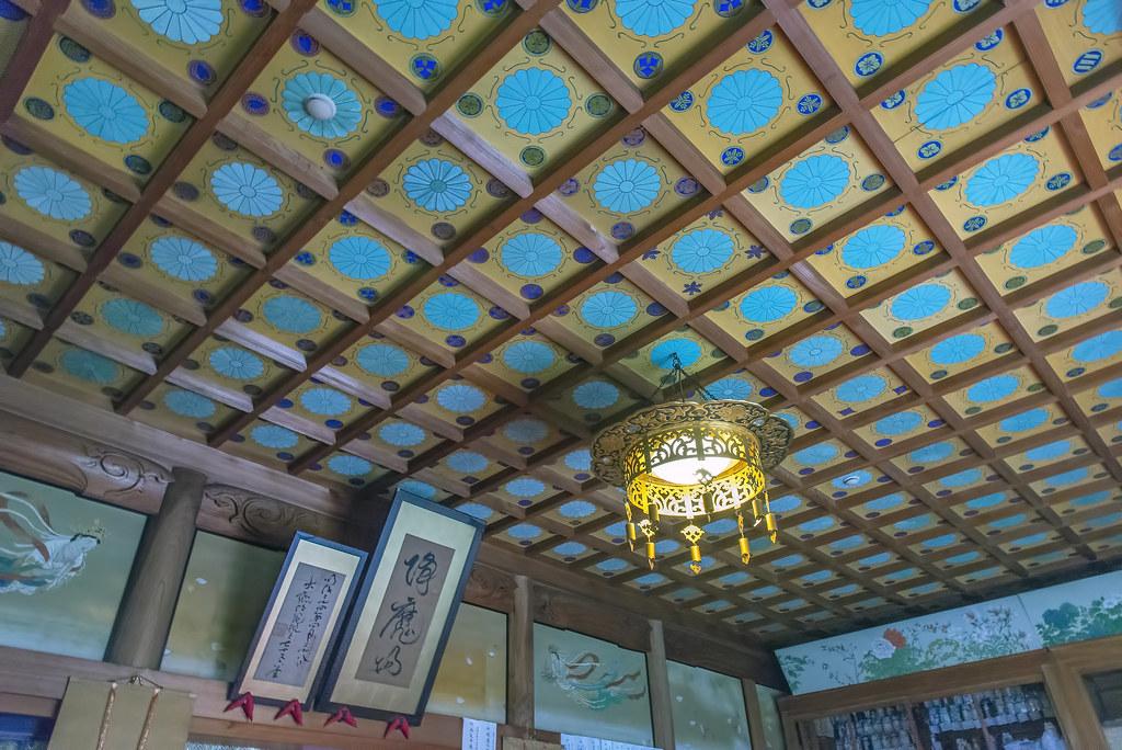 Fudoin ceiling