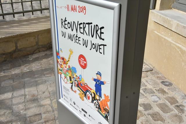 Inauguration du nouveau Musée du Jouet