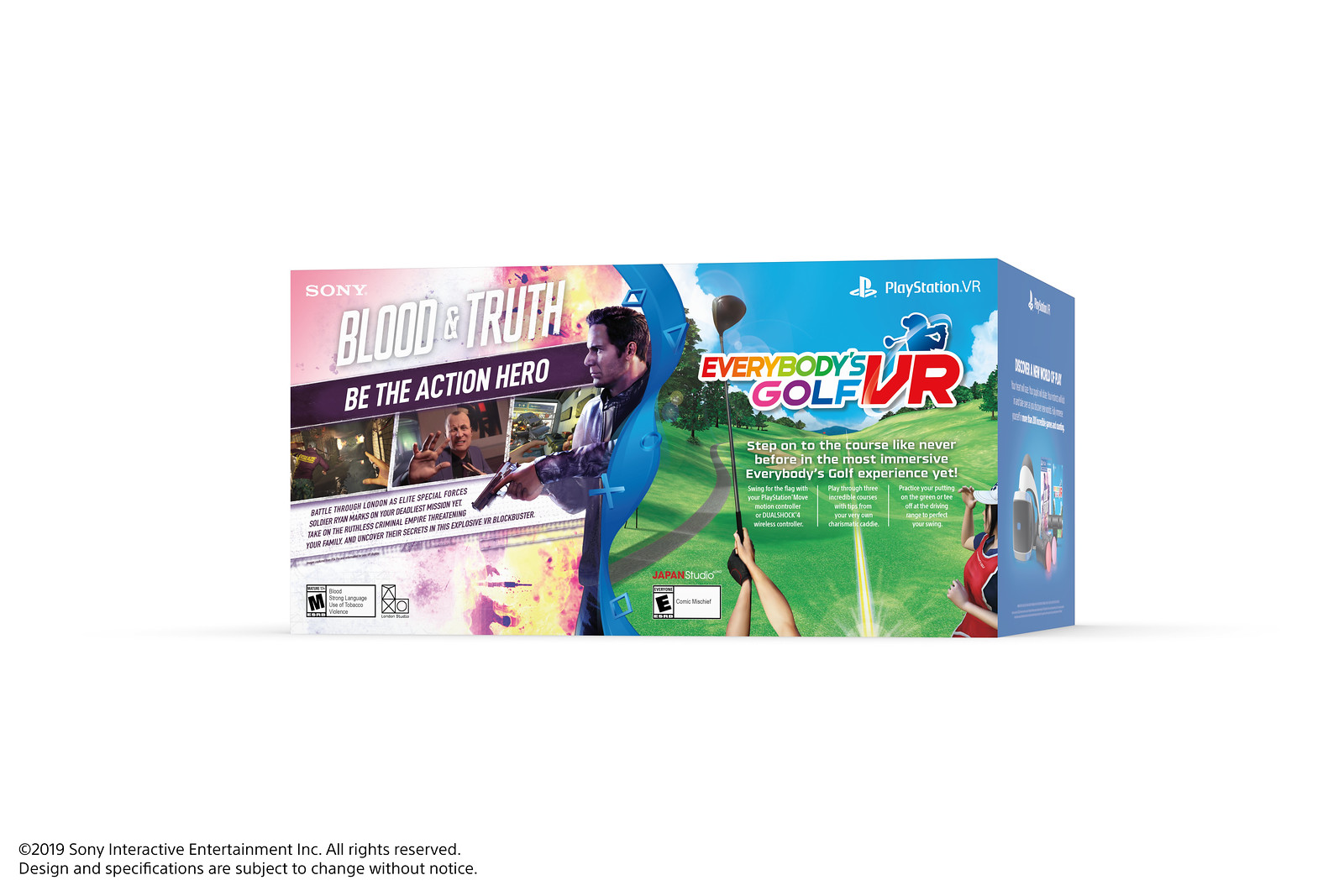 PS VR Bundle: Blood and Truth & Everybody's Golf VR