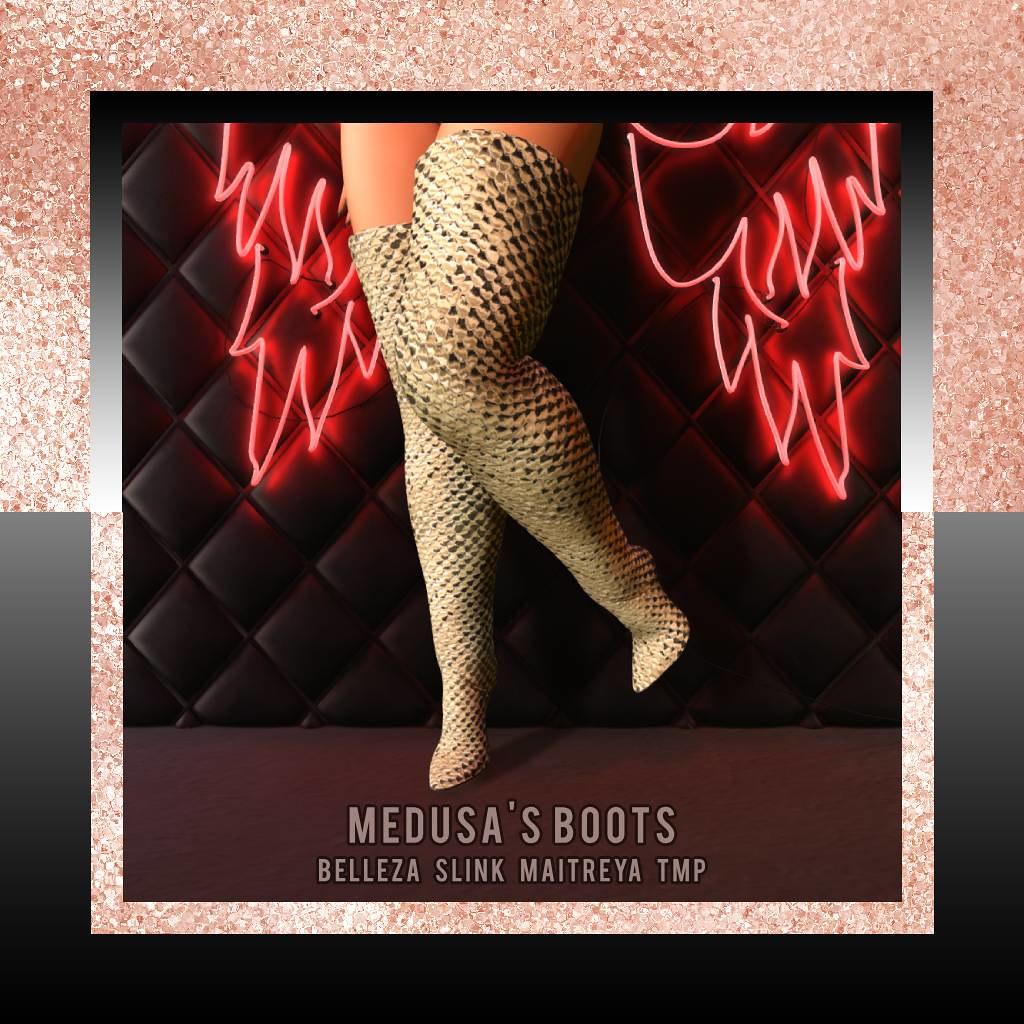 {zfg} medusa's boots