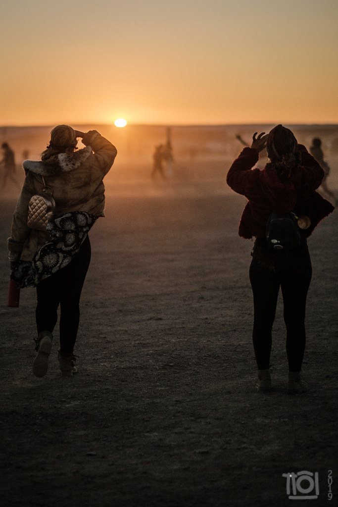 At the going down of the sun, Afrika Burn 2019