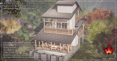 Trompe Loeil - Genoveva Hacienda Poolhouse, Couch & Chair Set for Collabor88 May