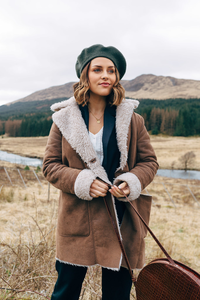 The Little Magpie Pepe Jeans Shearling Coat