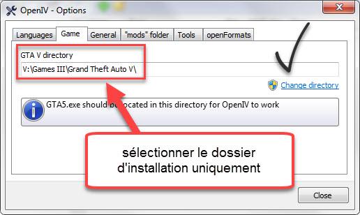 OpenIV Grand Theft Auto V Folder