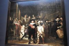 Night Watch by Rembrandt, Rijks Museum, Amsterdam, Netherlands