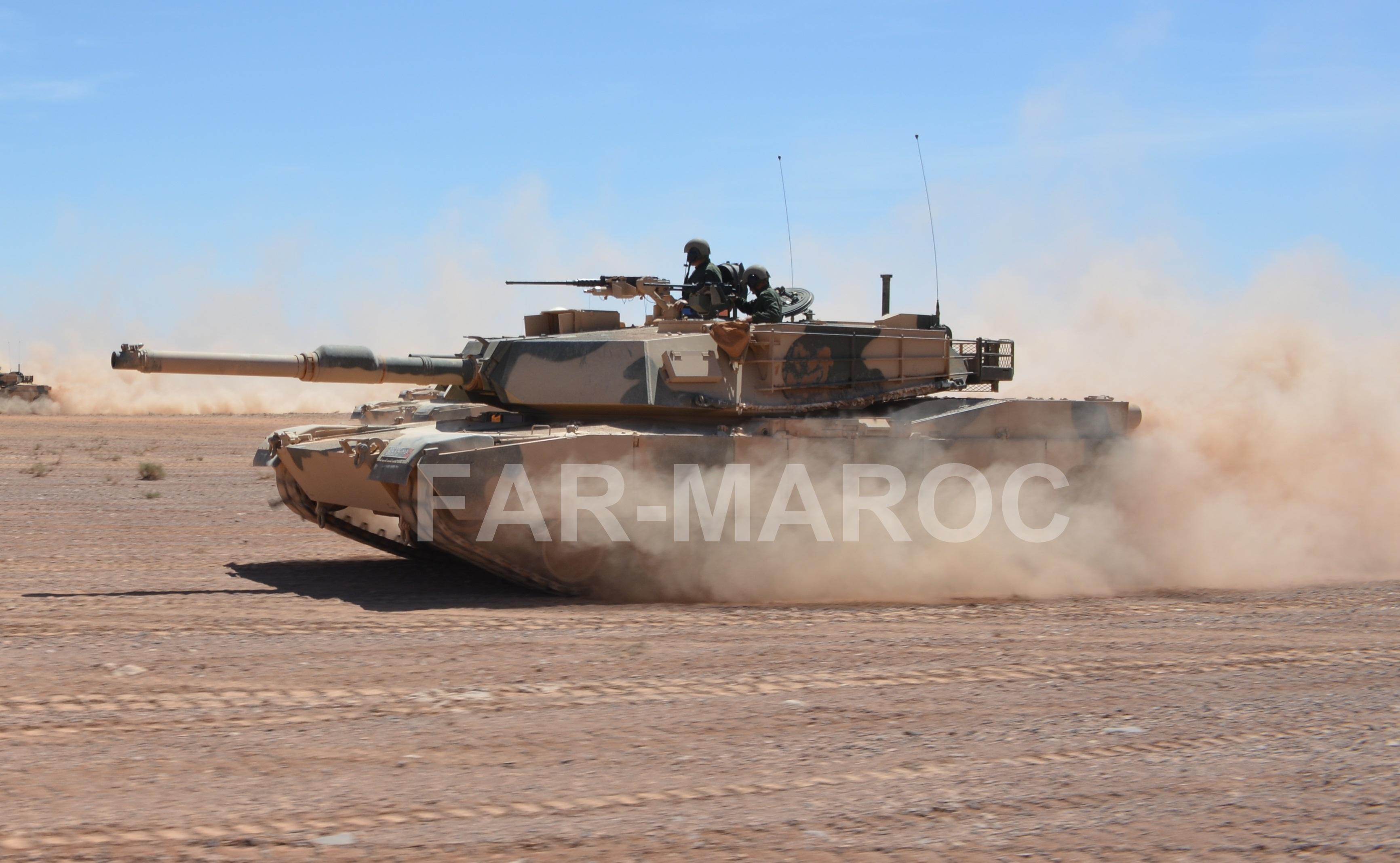 M1A1 SA ABRAMS Marocains / Moroccan M1A1 SA ABRAMS 32861823917_37eac7da0a_o