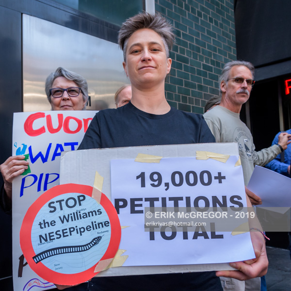Pipeline Showdown: Williams vs People of NY