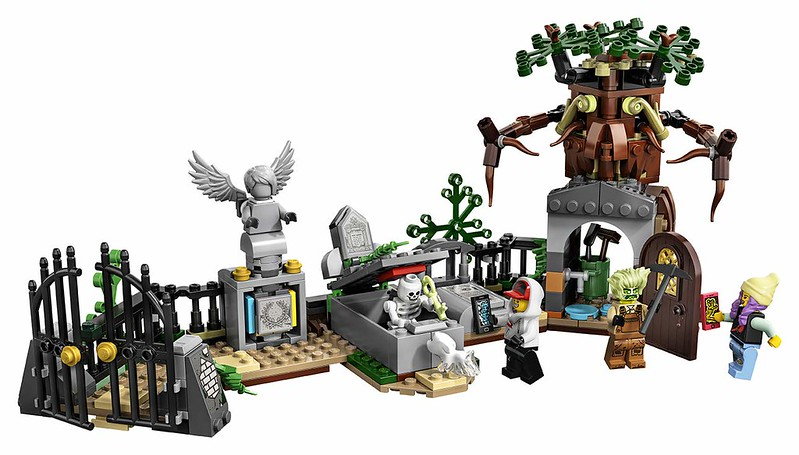 LEGO Hidden Side - 70420 - Cemetery 04