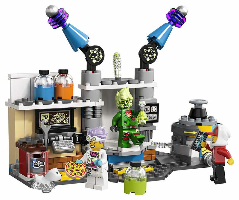 LEGO Hidden Side - 70418 - Laboratory 04