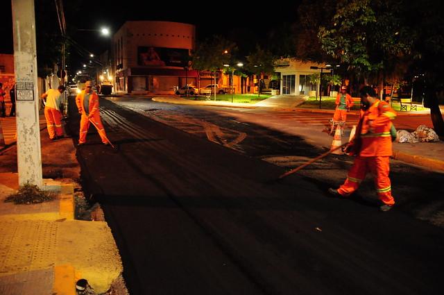 A operação tapa-buraco Rua Alfredo Fernandes. - CC (2)