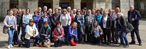 (Foto de Faustino) Excursión de la Asociación 5 de Octubre a Ubide y Ollerías