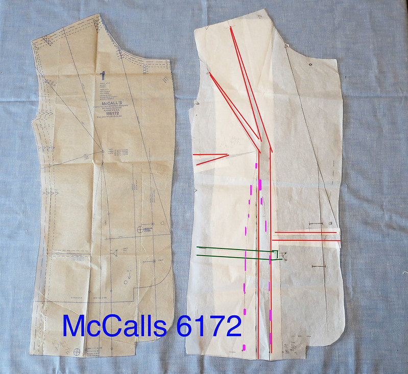 Revise jacket front McCall blazer