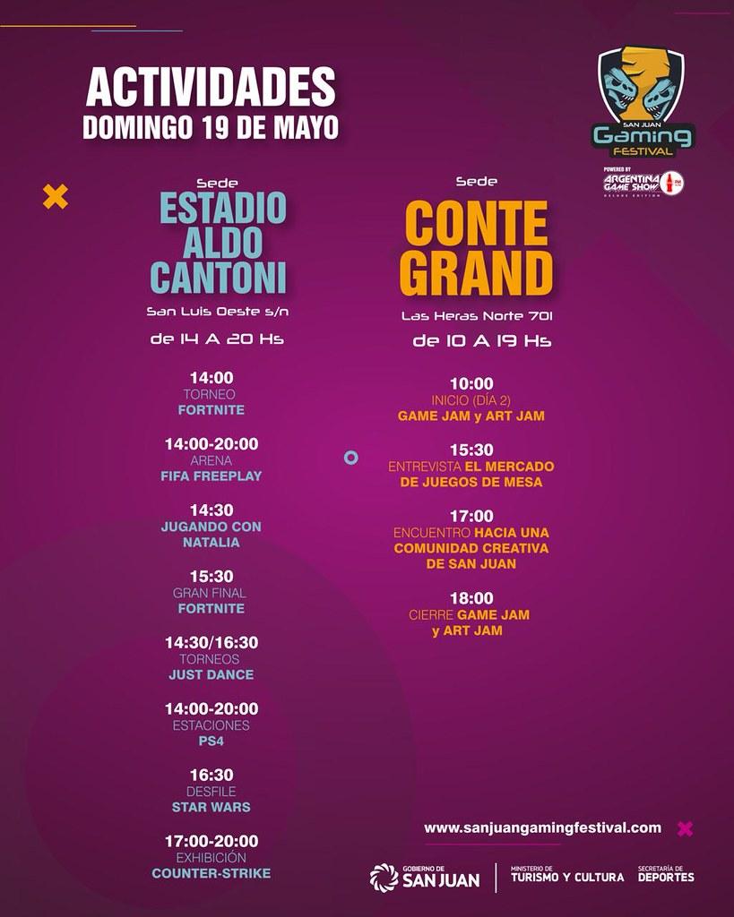 2019-05-09 TURISMO Y CULTURA: Game