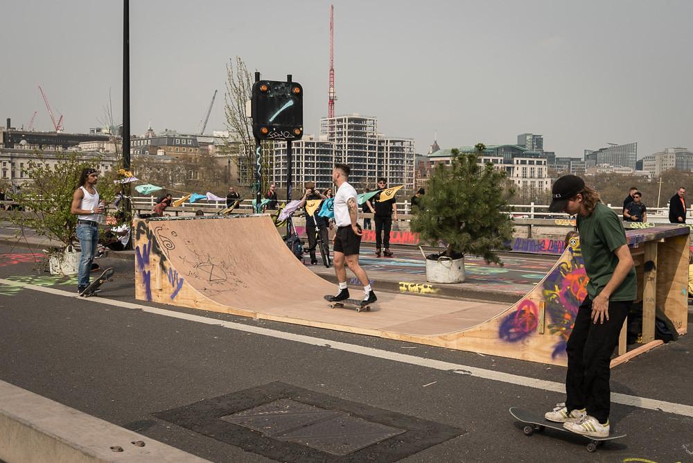 Instant skate park