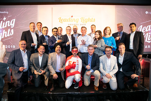 A group photo of the Leading Lights Awards 2019 Winners